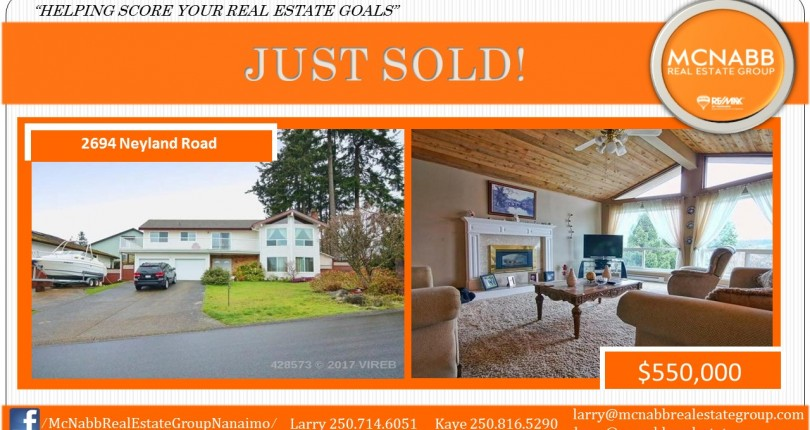 JUST SOLD 2694 NEYLAND ROAD!